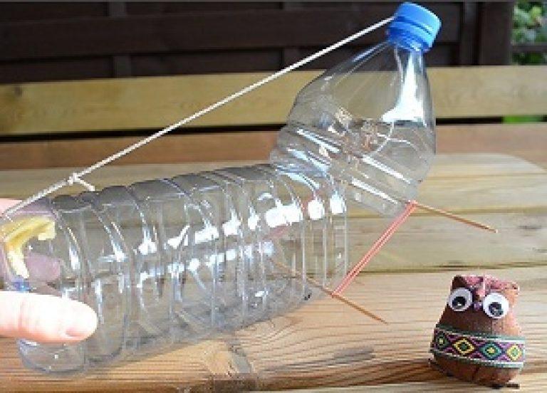 Как сделать мышеловку своими руками из пластиковых бутылок