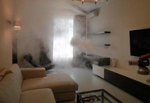 генератор сухого тумана