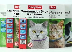 Ошейники от блох для котов цены в