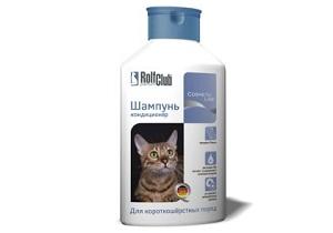 шампунь против блох для кошек