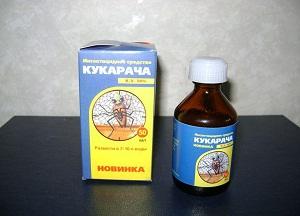 как использовать инсектицид Кукарача от клопов